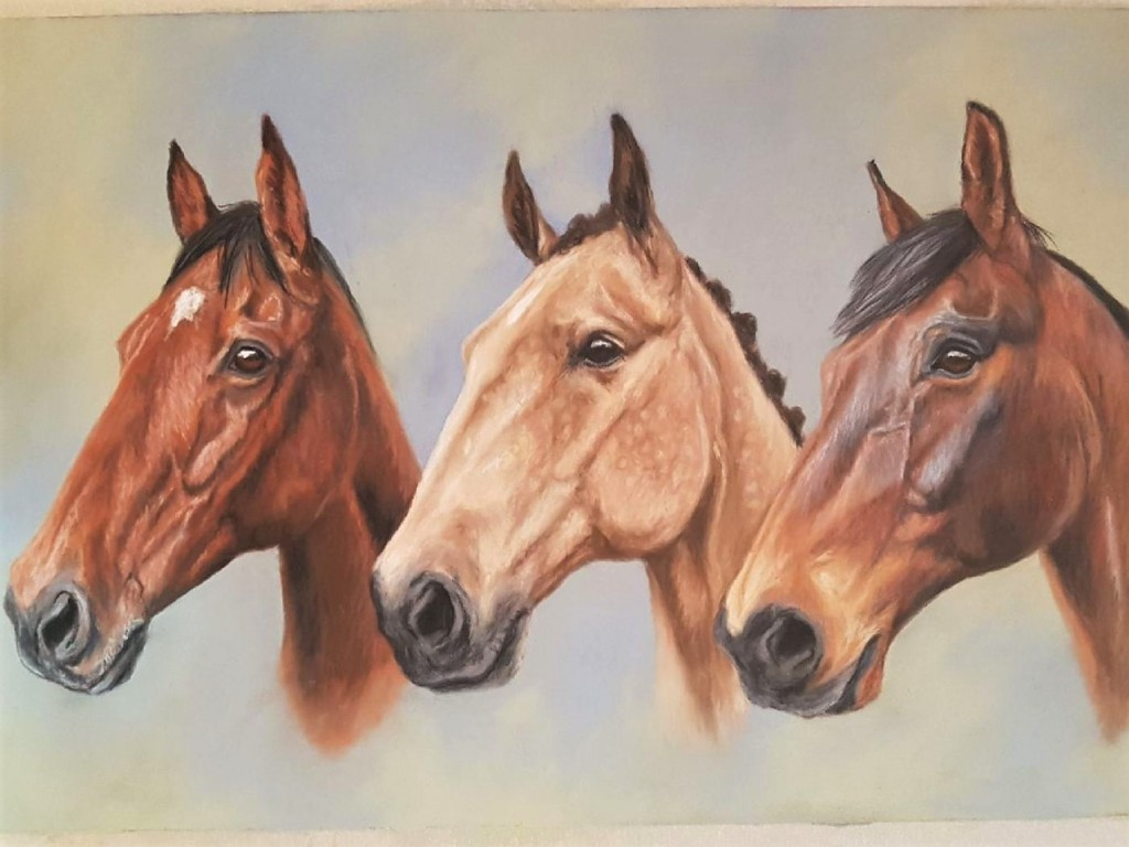 horse portrait, horse painting, pet portrait, pet painting, horse art, pet art, horse portrait gift, pet portrait gift