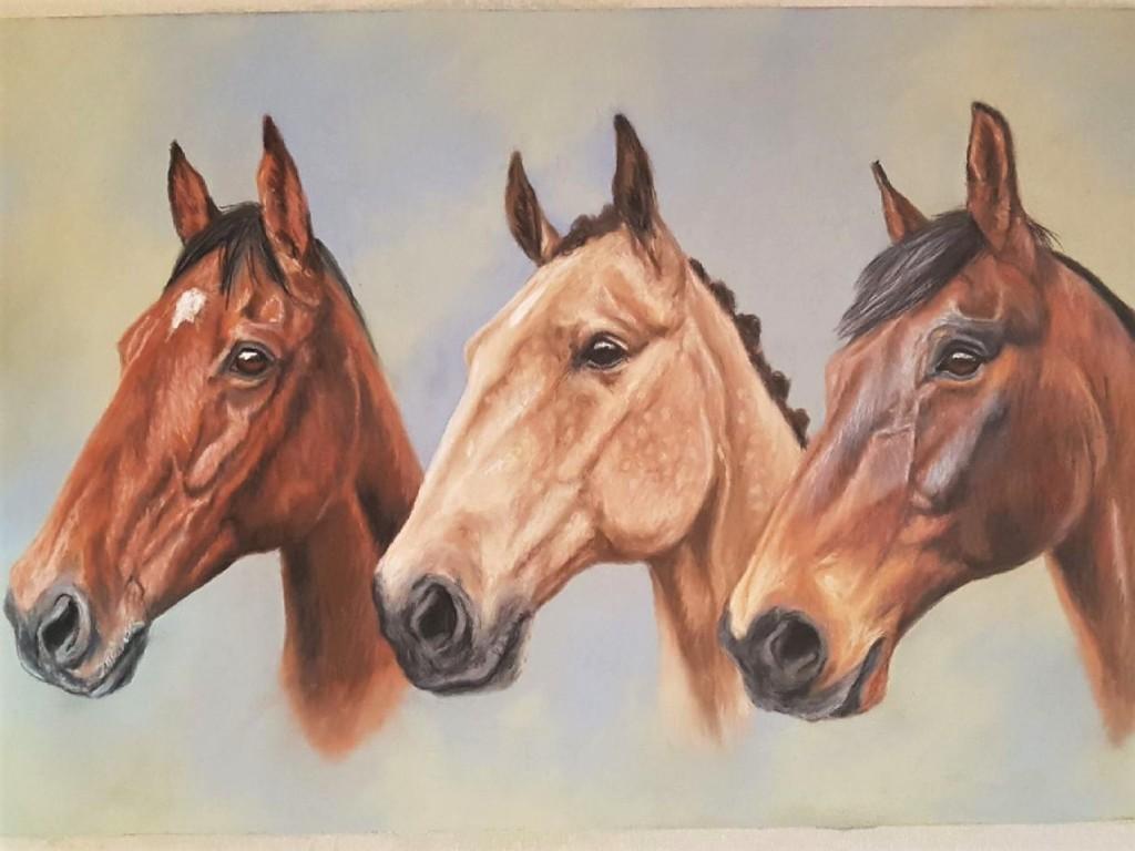 horse portrait, horse painting, pet portrait, pet painting, horse art, pet art, horse portrait gift, pet portrait gift