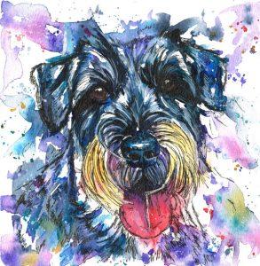 pet portraits, pet portrait, pet painting, pet paintings, dog portrait, dog portraits, dog painting, dog paintings, canine art, canine artist, pet portraits in watercolours, dog portraits in watercolours